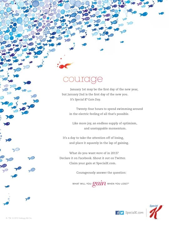 Special K - Courage Print