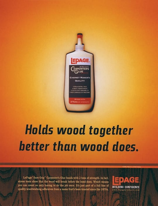 Loctite/LePage - Better Than Wood